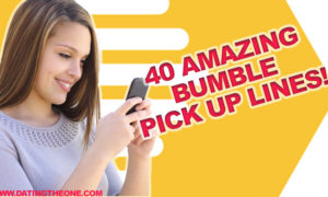 Bumble pick up lines girl image 1