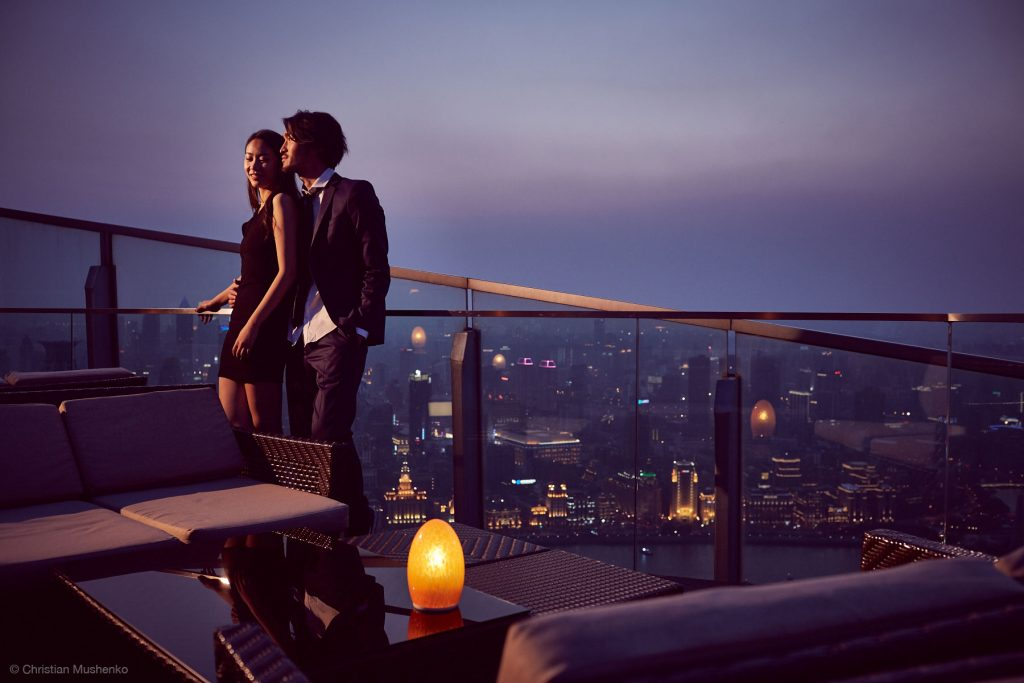 valentines day ideas - roof top date